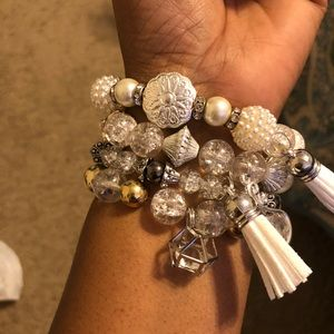 The Royal Queen Bracelets stack